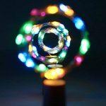 10 x 20 LEDs Guirlande lumineuse Multicolore, SiFar 2M Lampes de Bouteille, bande lumière liège Bouchon de bouteille, Bouteille Guirlande Liège Lampes, Lumières étoilées à piles pour DIY Maison, Extérieur, Jardin, Terrasse, Mariage et Fête de Noël de la m image 3 produit