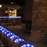 100LED Ruban Lumineux Solaire Lampes de Corde,KINGCOO étanche 39ft 12M Fil de Cuivre Extérieur Tube Rope Guirlande Lumineuse pour Noël Jardin cour Chemin Clôture Arbre Backyard (Bleu) de la marque KINGCOO image 3 produit