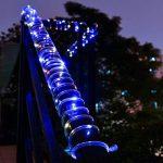 100LED Ruban Lumineux Solaire Lampes de Corde,KINGCOO étanche 39ft 12M Fil de Cuivre Extérieur Tube Rope Guirlande Lumineuse pour Noël Jardin cour Chemin Clôture Arbre Backyard (Multicolore) de la marque KINGCOO image 3 produit