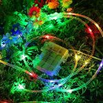 100LEDs Tube Lumineux Extérieur Guirlande Lumineuse,KINGCOO Etanche 33ft/10M 8 modes Lumière Dimmable Ambiance Alimenté par Batterie pour Décoration Jardin Terrasse Noël Nouvel Mariage (Coloré) de la marque KINGCOO image 4 produit