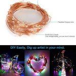 10M 100LEDs Multicolore Guirlande Lumineuse, SiFar IP68 8 Modes Luminaires extérieur Avec Télécommande, Pour Maison, Jardin, Mariage et Fête de Noël de la marque SiFar image 2 produit