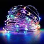 10M 100LEDs Multicolore Guirlande Lumineuse, SiFar IP68 8 Modes Luminaires extérieur Avec Télécommande, Pour Maison, Jardin, Mariage et Fête de Noël de la marque SiFar image 4 produit