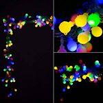 10M Guirlande Lumineuses Boules, 8 Modes d'éclairage avec Fonction de Mémoire, 100 LEDs Lumières Décoration pour Jardin Fête Noël Soirée Mariage, [Prise EU 31V DC] de la marque HanLuckyStars image 2 produit