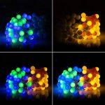 10M Guirlande Lumineuses Boules, 8 Modes d'éclairage avec Fonction de Mémoire, 100 LEDs Lumières Décoration pour Jardin Fête Noël Soirée Mariage, [Prise EU 31V DC] de la marque HanLuckyStars image 3 produit