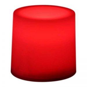 12Bougies LED Rouge Flamme Steady Humeur Chauffe-Plat à Piles par PK Vert de la marque PK Green image 0 produit