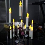 12pcs Flameless LED Candles Lights Battery Operated Votive LED Taper Candles for Christmas Wedding Birthday Party Halloween Room Decorations,6.5 x 0.9 Inch,Batteries Not Included (Warm) de la marque Parnerme image 4 produit