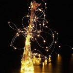 2 x10m Guirlande LED Lumineuse à Pile 100 LEDs Fonction Minuterie avec Télécommande IP65 Etanche Décoration intérieur et extérieur pour Noël Mariage Soirée Maison Jardin (Blanc Chaud) de la marque InteTech image 4 produit