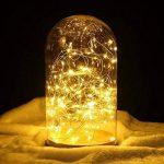 2 x10m Guirlande LED Lumineuse à Pile 100 LEDs Fonction Minuterie avec Télécommande IP65 Etanche Décoration intérieur et extérieur pour Noël Mariage Soirée Maison Jardin (Blanc Chaud) de la marque InteTech image 3 produit