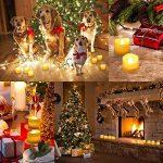 [24 Pack] AMIR Bougie LED, Bougies Sans Flamme, Lumière de thé de LED, Alimenté par Batterie, Éclairage pour Noël, Fête, Mariage (blanc chaud) de la marque AMIR image 1 produit