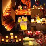 [24 Pack] AMIR Bougie LED, Bougies Sans Flamme, Lumière de thé de LED, Alimenté par Batterie, Éclairage pour Noël, Fête, Mariage (blanc chaud) de la marque AMIR image 2 produit