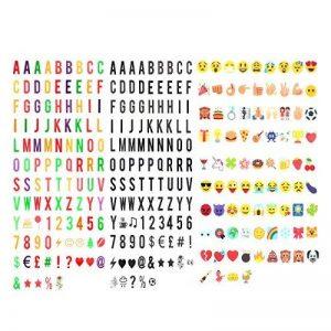 293 Lettres,nombres,symboles et emojis pour la boîte cinématique de format A4 Boîte Cinématique Enseigne Lumineuse Cinema Lumineuse A4 Boîte à Lumière LED de la marque JBOSE image 0 produit