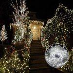 30M Guirlande Lumineuses, 8 Modes d'éclairage avec Fonction de Mémoire, 200 LEDs Lumières Décoration pour Jardin Maison Fête Noël Soirée Mariage, [Prise EU 31V DC] de la marque HanLuckyStars image 3 produit