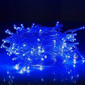 30M Guirlande Lumineuses, 8 Modes d'éclairage avec Fonction de Mémoire, 200 LEDs Lumières Décoration pour Jardin Maison Fête Noël Soirée Mariage, [Prise EU 31V DC] de la marque HanLuckyStars image 0 produit
