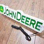 3d 12?V Lumi?re LED Neon plaque pour John Deere conducteur de tracteur Vert Sign Table illuminant Only Forward???Ne pas d?ranger les faire tout en Conduisant de la marque Other image 3 produit