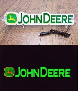 3d 12?V Lumi?re LED Neon plaque pour John Deere conducteur de tracteur Vert Sign Table illuminant Only Forward???Ne pas d?ranger les faire tout en Conduisant de la marque Other image 0 produit