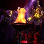 3D DIY Halloween LED Lights - Guirlandes électroniques de simulation électronique, lumières de brasier décoratives menées, flammes de flamme de flamme de flamme faux LED de la marque forestwood image 1 produit