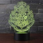 3D Lampes Illusions Optiques NHsunray 7 couleurs Changement Tactile Interrupteur Lumière De Nuit Art Déco Faites Une Ambiance Romantique Dans La Chambre Chambre D'enfants Salon Bar Café Restaurant de la marque sunray image 2 produit