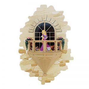 3DlightFX Disney Raiponce Princesse 3D Lampe Murale avec Autocollant | Veilleuse Arret Automatique | Applique avec Piles Enfant de la marque 3DLIGHTFX image 0 produit