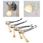 4 Pcs Tirer Interrupteur Maison Ventilateur Lampe Mur Lumière Remplacement Tirer la Chaîne Cordon Commutateur de la marque Zerodis image 4 produit