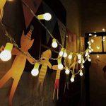 40 Boules 5M Chaîne de Lumières, LOHAS Guirlande Lumineuses à Petite Boules, Blanc Chaud, Décoration Pour Noël, Halloween, Mariage, Anniversaire, Maison, Jardin, Pâques, Terrasse, Pelouse, Lot de 1 de la marque LOHAS-LED image 3 produit
