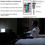 40cm Cube Lumineux LED Extérieur/Intérieur avec Télécommande, Batterie Multicolore Lampe de Nuit, Cube Tabouret Changeant de Couleur Imperméable avec 16 RGB Couleurs et 8 Luminosité Dimmable de la marque MR.GO image 4 produit