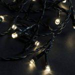 600 LED Guirlande Lumineuse Blanc Chaud 50m + 10m Conduits Noël Extérieur Intérieur de la marque Tenia image 2 produit