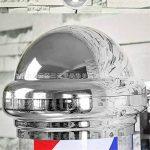 75CM LED Poteau de Barbier Coiffeur Enseigne 38CM rouge blanc Bleu Rayures Lumineuse Pivotante Imperméable Lumière Cheveux Salon Boutique Signe Lampe de la marque BarberPole image 3 produit