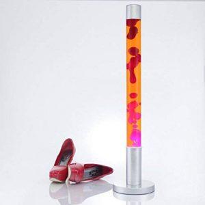 76 Cm lampe à lave sur pied orange/rouge de la marque Licht-Erlebnisse image 0 produit