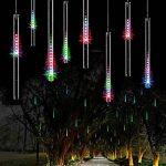 8 Tubes 30CM Etanche LED Météore Lumineuse Douche Pluie Feux pour Mariage Fête Soirée Maison Arbre Sapin Jardin de la marque Often image 1 produit
