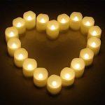 9 Bougies LED [Timer, Télécommande et Pile] 3 Modes Dimmable Sans Flamme en Cire Véritable Blanc Chaud de la marque KooPower image 3 produit