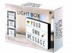 A4 cinématographique Boîte à lumière Panneau avec lettres et emoji pour les fêtes, les mariages, les jalons de promotion, Baby de la marque Gate 35 image 0 produit