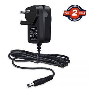 Ablegrid 12V 2A AC/DC adaptateur avec prise anglaise pour routeur CCTV Caméra IP Guirlande lumineuse à LED hub réseau Medela clavier Yamaha modèles routeur sans fil ADSL Cats, hub, Audio/Vidéo et d'autres appareils externes de la marque ABLEGRID image 0 produit