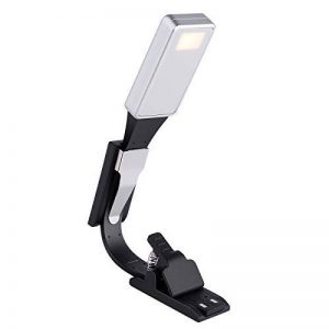 ACTOPP Lampe de Lecture LED Lampe de Livre Réglable USB Rechargeable avec 2 Clips et 3 Etapes de Luminosité Lampes de Chevet Portable et Flexible pour Kindle d'Amazone / eBook Reader / Livre / iPad de la marque AcTopp image 0 produit