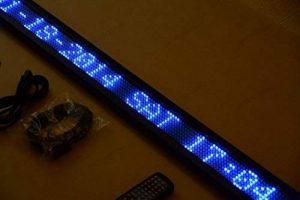 aftertech® Bleu enseigne 95x 10lumineuse LED coulissant publicitaire 840led de la marque Aftertech® image 0 produit