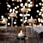AGPtek Lot 12 LED Bougie Flottante sans Flamme Etanche Flottant pour Decoration de Wedding Party Maison - Blanche Chaude de la marque AGPTEK image 1 produit