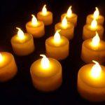 AGPTEK Lot de 100 Bougie LED à Piles avec Flamme Vacillante, Décoration pour Table Fête Party Anniversaire Mariage (Ambre) de la marque AGPTEK image 3 produit