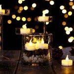 AGPTEK Lot de 100 Bougie LED à Piles (Blanc Chaud) Decoration pour Table Party Anniversaire Mariage de la marque AGPTEK image 4 produit