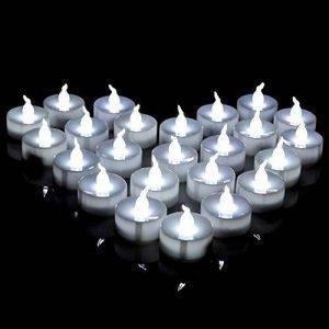 AGPtek Lot de 60 Bougie LED à Piles Decoration pour Table Party Anniversaire Mariage (Blanc Froid) de la marque AGPTEK image 0 produit