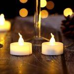 AGPtek Lot de 60 Bougie LED à Piles Decoration pour Table Party Anniversaire Mariage (Blanc Chaud) de la marque AGPTEK image 2 produit