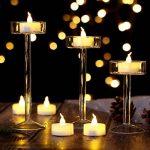 AGPtek Lot de 60 Bougie LED à Piles Decoration pour Table Party Anniversaire Mariage (Blanc Chaud) de la marque AGPTEK image 3 produit