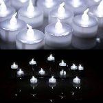 AGPtek Lot de 60 Bougie LED à Piles Decoration pour Table Party Anniversaire Mariage (Blanc Froid) de la marque AGPTEK image 2 produit