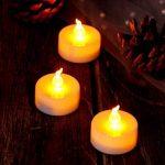 AGPTEK Lot de 60 Bougies à LED Sans Flamme Decoration pour Anniversaire Mariage -Jaune Ambré de la marque AGPTEK image 1 produit