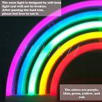 AIZESI Lampe Arc En Ciel LED Neon Rainbow Lampe Arc En Ciel Veilleuse Néon Multicolore Lumière Néon Led Lights Décoration Murale Noël Fête Cadeau pour Enfants(Rainbow) de la marque GB UNICORN image 3 produit