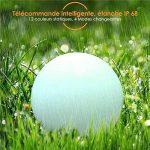 Albrillo Lampe d'ambiance Boule Solaire - Boule LED Lumineuse IP68 avec Télécommande, 4 Mode De Changeante et 12 Couleurs RGB Réglables, Boule Décorative Pour Fêtes, Mariage, Piscine de la marque Albrillo-FR image 2 produit