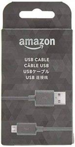 Amazon - Câble USB vers micro-USB PowerFast pour une charge accélérée - compatible avec la plupart des tablettes, liseuses, smartphones et plus encore de la marque Amazon image 0 produit