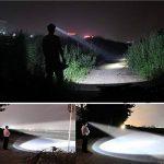Ambertech rechargeable tête torche super brillant LED tête lampe avec XM-L T6 LED tête meilleure lumière pour les sports de plein air ou des travaux ménagers de la marque Ambertech image 4 produit