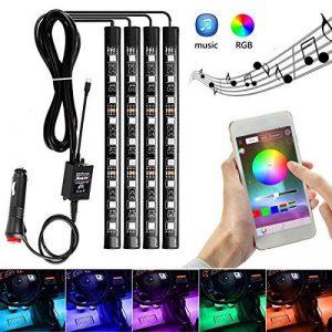 AMBOTHER LED RGB Ruban Bande Néons APP Contrôleur Multicolor Auto12V de la marque AMBOTHER image 0 produit