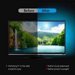 AMIR Ruban à LED RGB pour HDTV, Rétroéclairage TV, 30 LED 1M, USB Powered Imperméable Flexible Rétro-éclairage, Lampe à Rayons LED Multicolores avec Télécommande de la marque AMIR image 2 produit