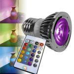 Ampoule LED (RVB) Lumihome E27 5 W forme de bougie 1 set de la marque Lumihome image 3 produit