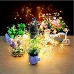 Ankamall Elec 16 Pack 20 LEDs Bouton lumineux pour caisson de batterie de 6,5 pieds (non compris) Lumière du jour blanche pour décorations de Noël/jardin de la marque Ankamal Elec image 1 produit